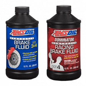 Amsoil Dot 3 & Dot 4 Racing Brake Fluid